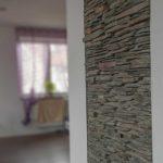 Ściana - kamień cięty jednostronnie