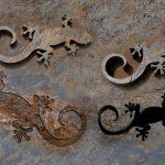 Jaszczurki  w kamieniu