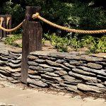 murek z łupka ogród japoński