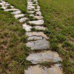 ścieżka z łupka szarogłazowego